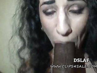 French Superhead Arabelle Raphael Multiracial Defamatory Head At hand Facial Cumshot- DSLAF