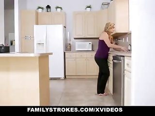FamilyStrokes - Warm Step-Sister Together with Mother Tricked Together with Romped Wits StepBro